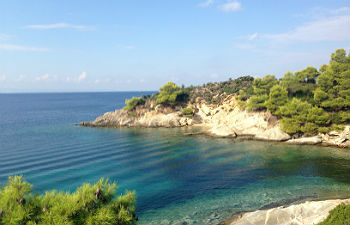 Sithonia klimaat groene kust Chalkidiki