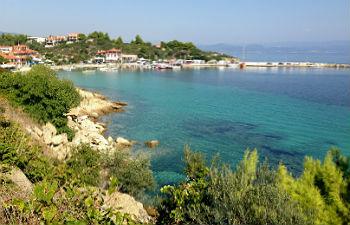 Sithonia vakantie Ormos Panagias