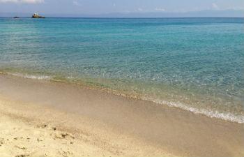 Sithonia stranden op Chalkidiki