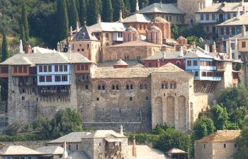 Athos kloosters bezienswaardigheden