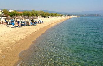 Stranden centrale regio Chalkidiki