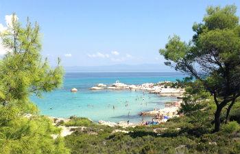 Sithonia vakantie op Chalkidiki
